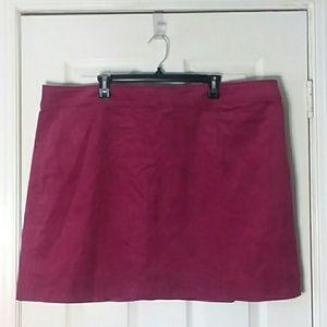 NWT J. Crew Merchantile Cordorary Skirt Size 22